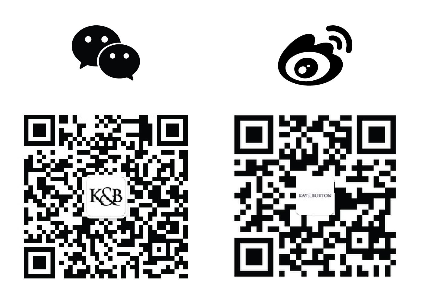Wetchat and Weibo